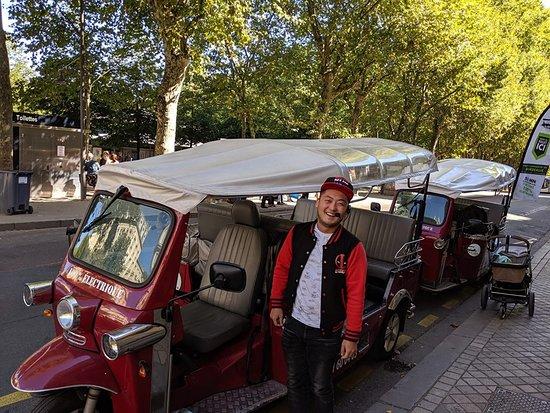 Tuk Tuk Visit Bordeaux