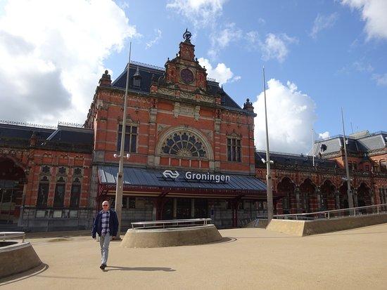 Groningen Province, Belanda: NS station Groningen