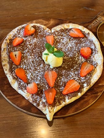 Pizza amore con nutella