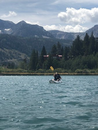 June Lake Kayaking 2019