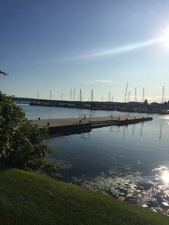 Victoria Harbour, Canadá: Patio view