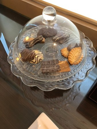Butterfly on Wellington - lobby biscuits