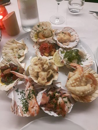 Mussolente, Italien: antipasto misto di pesce