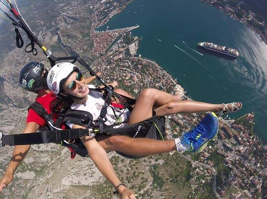 Kotor Paragliding Montenegro