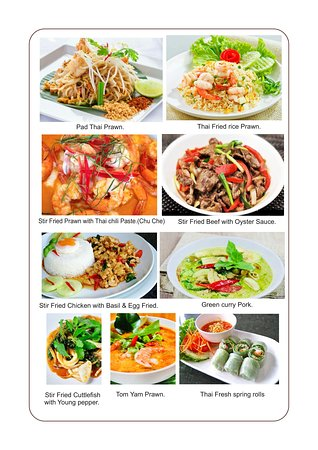 Sala Thai: Come and check out our New Menu.