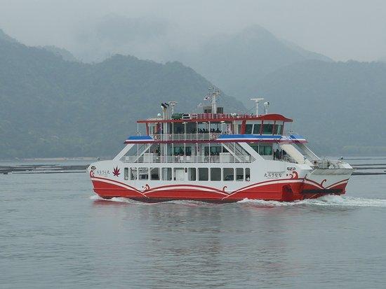 楽しい船旅を。