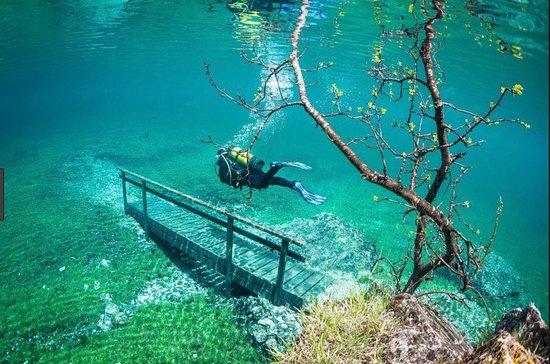 Oberort, Αυστρία: Passaggi sommersi