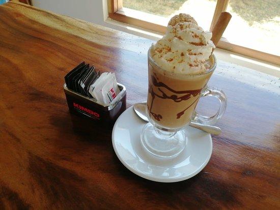 Crema de Café Frío.... Una delicia para el paladar.. Refrescante, diferente y delicioso!
