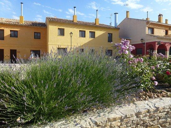 Inazares, Spania: Buena comida acompañada de tranquilidad y colorido