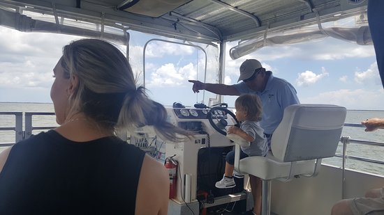 Sebastian, FL: Ride the River King and look for dolphins, manatees, and alligators!
