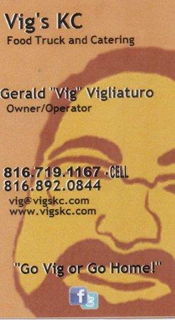Odessa, MO: My business card