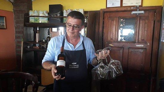 San Jorge, Nicaragua: Una atención esmerada para los vinos