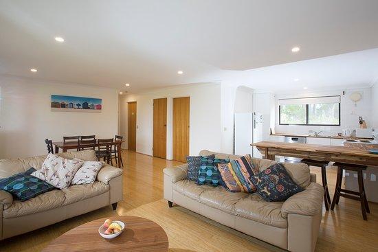 Barragga Bay, Australia: Living Area Cottage 2