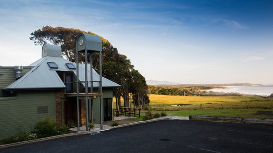 Barragga Bay, Australia: Cafe at Cuttagee Beach Cottages (open in summer holidays)