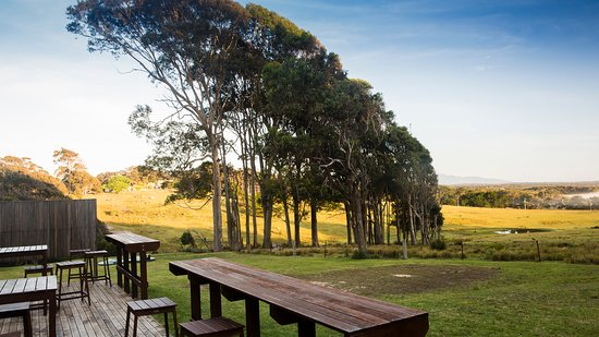 Barragga Bay, Australia: Cafe at Cuttagee Beach Cottages (open only in Summer Holidays)