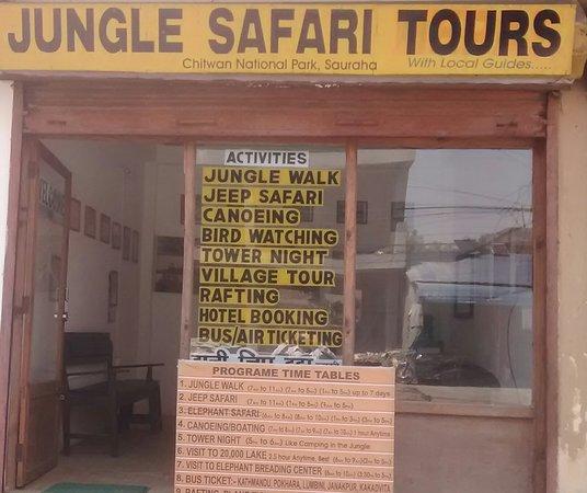 Jungle safari tours
