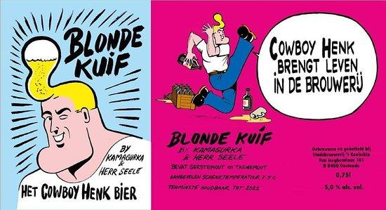 Stadsbrouwerij 't Koelschip Oostende - Blonde Kuif