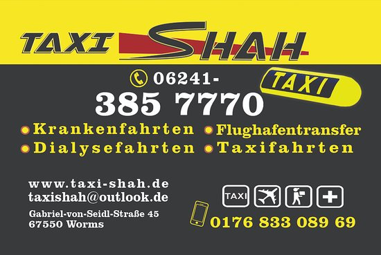 Taxi Shah Picture Of Taxi Shah Worms Tripadvisor