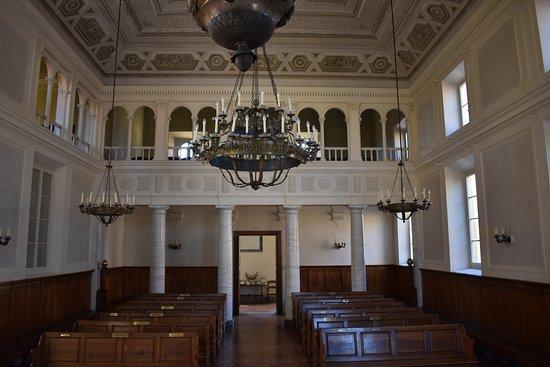 Sinagoga di Pisa: Interno