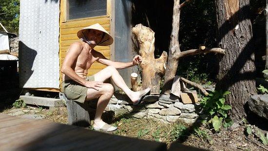 Minyar, Russland: Уральские горы, домик в горах, походы в в горный распадок по реке Миньярка.