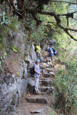 hiking on Inka trail