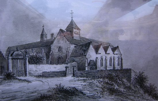 Saint-Paul-aux-Bois, Frankrike: Prieuré de Saint-Paul-Bois où résida de 1812 à 1904 la communauté de l'actuelle Abbaye Notre Dame de la Paix de Chimay