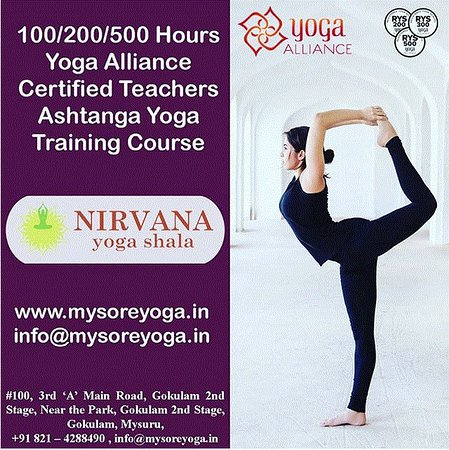 Ashtanga Vinyasa Yoga Teacher Training Course Picture Of Nirvana Yoga Shala Mysuru Mysore Tripadvisor