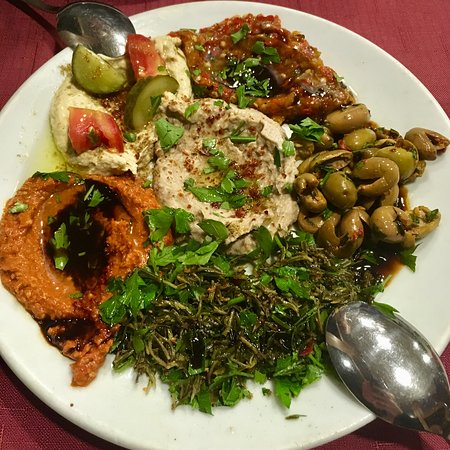 Delicious authentic Turkish food