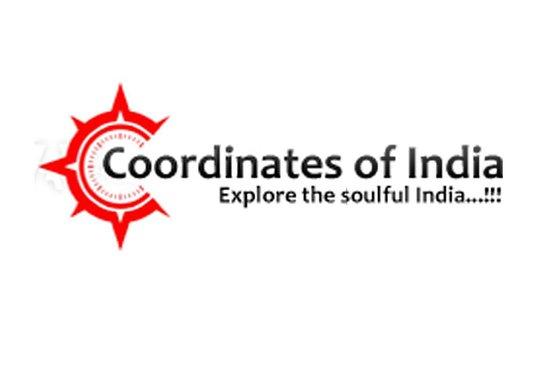 Coordinates of India