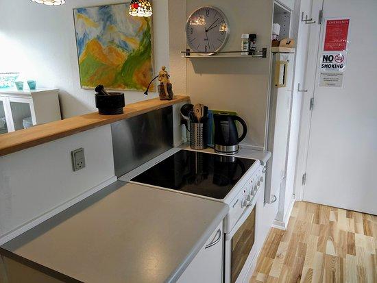 Hovedgård, Danmark: Kitchen - Apartment N4