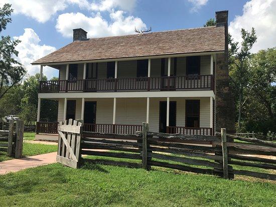 Garfield, AR: Restored Elkhorn Tavern