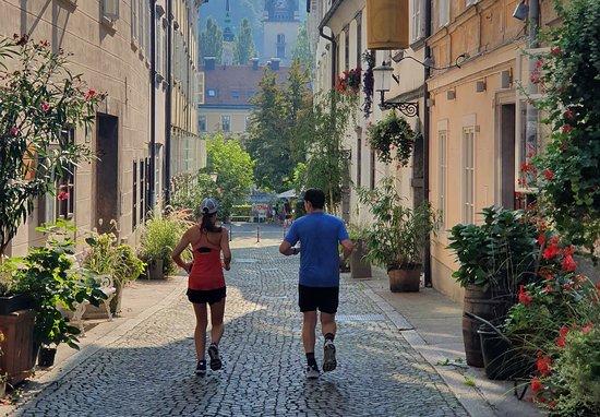 Sightrunning Ljubljana