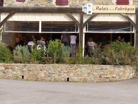 Saint-Sebastien-d'Aigrefeuille, Frankrike: Photo de la terrasse