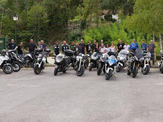 Saint-Sebastien-d'Aigrefeuille, Frankrike: Photo du groupe Section Moto K 1 Lavera