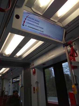 U Bahn in Gelsenkirchen