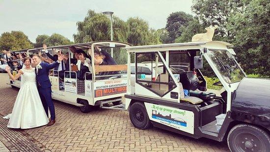 Dordrecht, هولندا: Ook voor trouwritten kun je onze elektrische trein huren.