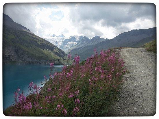 Anniviers, Schweiz: Il ne faisait pas grand beau, mais c'était tout de même majestueux.