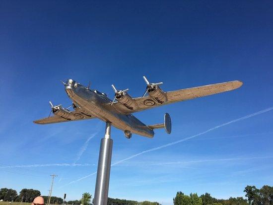 B-24J Bomber Crash Memorial, Chappell, NE