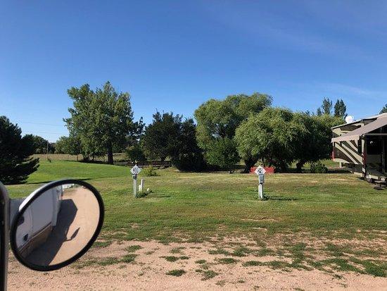 Chappell, NE: Creekside RV Park grounds