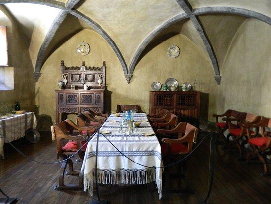 Issogne, Italia: sala da pranzo