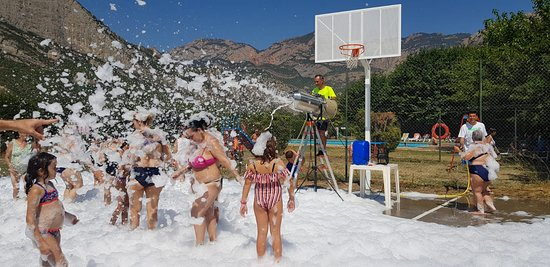 Oliana, Spania: Además, organizamos diferentes actividades para nuestros clientes para una estancia más agradable y divertida.
