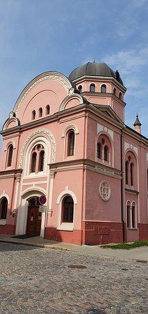 Uherske Hradiste, República Checa: Bývalá synagoga, nyní knihovna