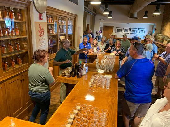 Central Kentucky Tours: Freddie tells us about Buffalo Trace