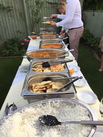 Seal, UK: Thank you for fabulous service food etc for sisters blessing in garden  Omg good amazing
