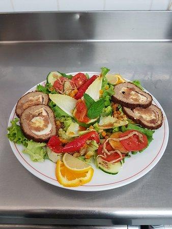 Salade polpettone