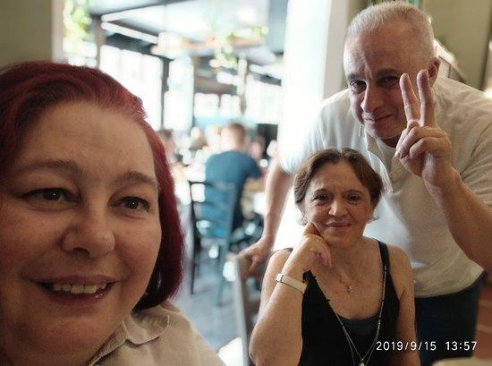 Campagnola Emilia, Italia: Grazie per la cortesia e la qualità del cibo apprezzato tantissimo il dolce gelato al RUM
