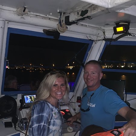 Mark and Kayla made the sunset cruise enjoyable and were very friendly! Fun hosts for the cruise!!
