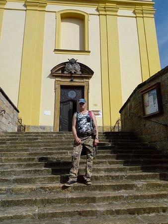 Ruzova, Tsjekkia: KOSTEL NAPROTI RESTAURACI