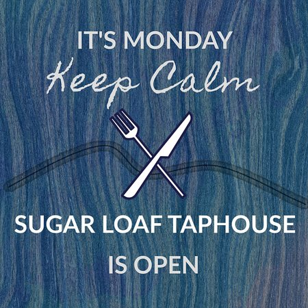 Sugar Loaf, NY: Open 7 days a week now for Lunch - Dinner - Take Out