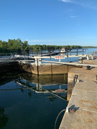 Portland, Canadá: Lock gate at the Narrows.
